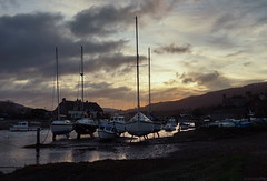 Porlock Weir Sunrise Today (EmPhoto.) Tags: porlockweir harbour sunrise uk exmoor nationalpark emmiejgee landscapepassion sonya7r today i'mhonouredhowmanyfortheyear😁