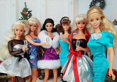 Старый Новый год (alenamorimo) Tags: barbie barbiedoll dolls holidays newyear barbiecollector superstar