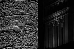 Storia (frnrnd) Tags: architecture architettura archaeology archeologia light shadow luce ombre roma romano rome impero empire italia italy culture heritage altaredellapatria blackandwhite biancoenero bn bnw sculpture scultura