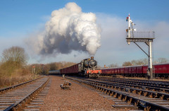 GCR visitor from the SVR - Number 2 (photofitzp) Tags: 7802 gcr railways svr smoke steam swithlandsidings timelinephotocharters uksteam winter