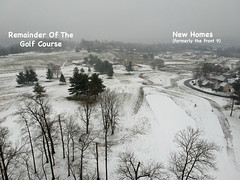 Aerial Snow Scenes - Jan 2019 -4 (KathyCat102) Tags: dji spark quadcopter drone aerial photography golfcourse gc