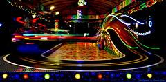 The Littlest Rollercoaster (Ronnie Gaye) Tags: light fair fairground colours