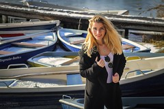 Boat Lady (Patrick Scheuch Photography) Tags: portrait fotomodel fotoshooting fotoshoot photoshoot photoshooting lifestyle fashion fashionmodel augsburg kuhsee see lake bayern female woman girl