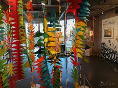 Fantaisie végétale (bpmm) Tags: colysée lambersart art expo nord exposition lucievandevelde dessin peinture illustration