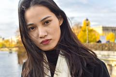 visiting Paris (fred9210) Tags: portrait paris chineese 50mm sweet girl eyes nikom