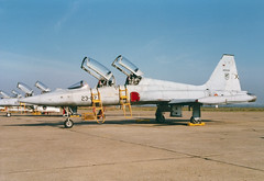 SF-5B AE9-014 23-07 Ala23 (spbullimore) Tags: northrop freedom fighter f5 sf5b ae9014 2307 ala 23 ala23 spain spanish air force ejercito del aire 1996 talavera la real