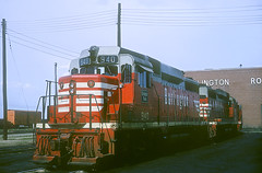 CB&Q GP30 940 (Chuck Zeiler48Q) Tags: cbq gp40 940 burlington railroad emd locomotive clyde train chuckzeiler chz