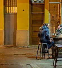 Valencian Night Life (Olympus OM-D EM5-II & Sigma 56mm f1.4 DN Prime) (1 of 1) (markdbaynham) Tags: valencia city cityscape citybreak ciutat valencian spanish spainishcity spain urban urbanlife evil metropolis mirrorless microfourthird microfourthirds mft olympus omd omdem5 omdm43 em5 em1mk2 em5ii micro43 m43 m43rd olympusmft street candid vlc people 56mm prime sigma primelens sigmadn em5markii citylife em5mark2 olympistas fixedlens