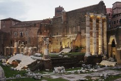 The temple of Mars Ultor ('The Avenger') (Insher) Tags: italy italia rome roma ancient ruins antica thetempleofmarsultor forumofaugustus