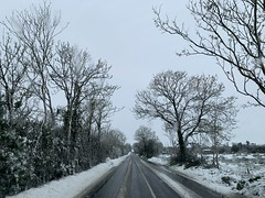 Snow Day - March 3, 2019 - County Cork, Ireland (firehouse.ie) Tags: landscape snowy wintery countryroads countryroad countrylanes countrylane lane 2019 march snowscape countryside highways highway roads roadway road countycork ireland snowing snow