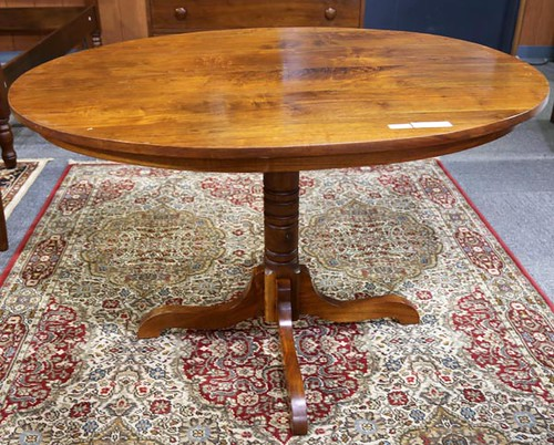 Clore Walnut Oval Table ($784.00)