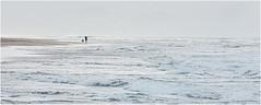The surf runners (rabranter) Tags: atlantic waves water westport beach sea scotland surf machrihanish