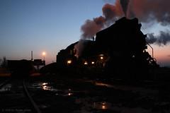 I_B_IMG_1481 (florian_grupp) Tags: asia china steam train railway railroad sandaoling xinjiang muslim desert landscape js ore mine 282 mikado steamlocomotive locomotive opencastmine
