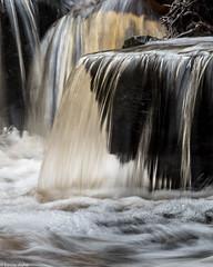 Cascade detail (Donard850) Tags: mallyanspout northyorkmoors cascade river rocks water waterfall