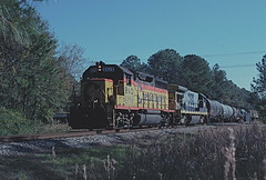 Long way from home (The Andy Smith) Tags: gonzalez pensacola fl csx bo 6528 gp40