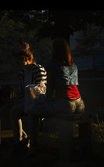 Ass Mode (Виго) Tags: dusk sunset backlit silhouette sun beautiful girl sunlight evening beauty fashion light sofia bulgaria contrast colors