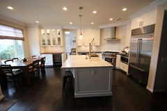 #KitchenRemodel with custom Aplus white #cabinets, black counter tops & dark #woodfloor in the city of #MissionViejo, #OrangeCounty http://www.aplushomeimprovements.com/portfolio_page/135-transitonal-design-build-kitchen-remodel-in-mission-viejo/ (Aplus Interior Design & Remodeling) Tags: kitchenremodel kitchen kitchenisland kitchenrenovation kitchencabinets kitchenandbath orangecounty oc orange remodel residentialdesign remodeling renovation residentialremodel residence room reface wood woodflooring woodcabinets whitecabinets woodfloor
