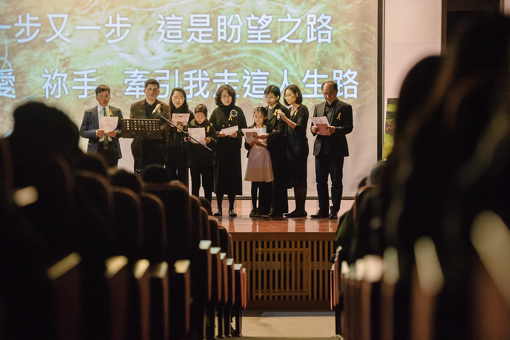 《喪禮攝影》台中 / 王博優 先生精采人生追思音樂會