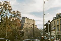 Castle From Lothian Road Portra 400 (separatesunsets) Tags: 35mm canonae1 edinburgh portra400 scotland uk colournegative film