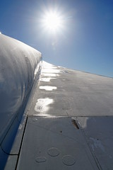 Icy Concorde Wing (The-Beauty-Of-Nature) Tags: mine photography original museum technikmuseum sinsheim technology aircraft airplane engineering machine old concorde supersonic airfrance