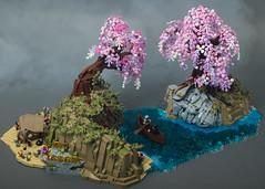 "Alfheim (from ""God of War"") (SteppedOnABrick) Tags: god war lego moc afol sony fantasy kratos atreus alfheim"
