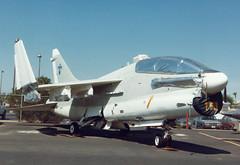TA-7C 154477 N164TB Thunderbird Aviation (spbullimore) Tags: ta7c ta7 a7 corsiar vought 1994 usa az arizona phoenix airport valley deer aviation thunderbird 154477 n164tb usn us navy united states