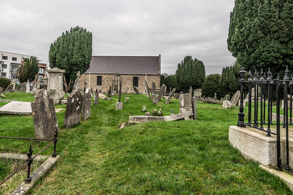 SAINT NAHI'S CHURCH [A VERY OLD CHURCH AND GRAVEYARD NEAR THE TRAM STOP IN DUNDRUM]-147325