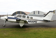 N600PE (GH@BHD) Tags: n600pe beech beechcraft beech58 beechbaron baron piston twin ulsterflyingclub newtownardsairfield newtownards aircraft aviation