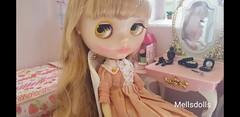 Neo Blythe Sally Rice (mellsdolls) Tags: blythe dollhouse miniature blythedolldress dolldress handmadedolldress sallyrice rement blythesallyrice