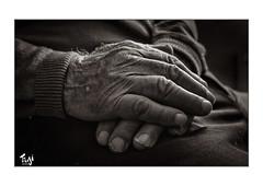 Daddy's old Hand (Fujigraf) Tags: fuji xt3 hand händy vater daddy old father geschichte finger haare fujixf23mm1 zeit