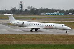 G-RJXI Embraer EMB145EP Logonair Stansted 02nd March 2019 (michael_hibbins) Tags: grjxi embraer emb145ep logonair stansted 02nd march 2019 aeroplane aerospace aircraft aviation airplane air aero airfields airport airports civil commercial passanger passenger jet jets g british britian uk united kingdom europe european