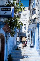 501- AZUL XAUEN - MARRUECOS - (--MARCO POLO--) Tags: calles ciudades rincones marruecos exotismo curiosidades arquitectura edificios