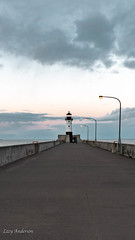 Canal Park (Lzzy Anderson) Tags: canalpark duluth canalparkduluth march spring 2019 minnesota lakesuperior lighthouse sunset clouds