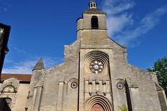 Notre Dame du Puy (XIIe-XVIIe), place du Puy, Figeac, Quercy, Lot, Occitanie, France. (byb64 (en voyage jusqu'au 30)) Tags: figeac fijac fitsat lot quercy midipyrénées occitanie occitania okzitanien france francia frankreich europe europa eu ue hautquercy ville cité ciudad town city statd citta champollion