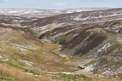 Reclaim (Tony Tooth) Tags: nikon d7100 sigma 70mm landscape moor moorland mine reclaimed peakdistrict snowy wintry axeedgemoor stream brook valley buxton derbyshire england