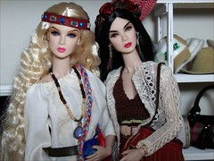 Georgie and Takiko (jasminalexandra) Tags: integrity fashion royalty fr nuface lillith lilith eden
