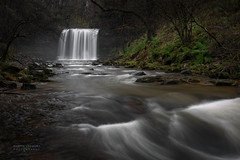 Curtain (gregoryphoto150) Tags: sgwd eira hepste water river waterfall breconbeacons curtain snow sgwdyreira valley woods forest ferns rapids brecon beacons wales waterfallcountry manfrotto formatthitech ngc