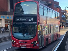 Newer DW on the direct route to the corners of Wood Street. | Arriva North London VDL DB300 on the 230 to Upper Walthamstow. (alexpeak24) Tags: lj13cfa upperwalthamstow woodgreen 230 db300 vdl london arriva