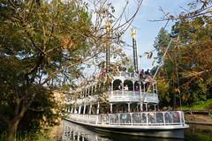 disneyland (dolanh) Tags: anaheim disneyland holidays marktwain riverboat sternwheeler tomsawyersisland
