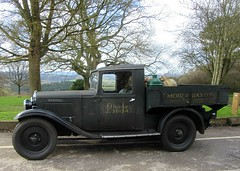 1935 Austin pick-up truck * (John(cardwellpix)) Tags: ~5886 newlands corner guildford surrey 1935 austin pickup truck