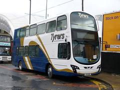 Tyrers LX11CWE 181201 Manchester (maljoe) Tags: tyrersadlington tyrers railreplacement