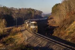 Echoing though the Dawn (travisnewman100) Tags: norfolk southern train railroad freight locomotive emd sd70ace braswell atlanta north district georgia division unit grain 56e rr