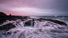 Thor's Well (Jeremy Duguid) Tags: oregon coast coastal sunrise morning dawn long exposure travel landscape sony jeremy duguid beach ocean pacific northwest pnw color colors colours