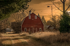 Night Sounds (henryhintermeister) Tags: barns minnesota wibarns oldbarns clouds farming countryliving country sunsets storms sunrises pastures nostalgia skies outdoors seasons field hay silos dairybarns building architecture outdoor winter serene grass landscape plant cloudsstormssunsetssunrises cambridgekmn