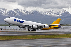 PAC B748 N857GT PANC 18/MAY/17 (Marc Hookerman) Tags: polaraircargo atlasair boeing 7478f 74787uf n857gt anchorage alaska panc anc