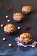 Muffin con pecorino al tartufo e nocciole 1 (Giovanna-la cuoca eclettica) Tags: muffin baking baked stilllife food