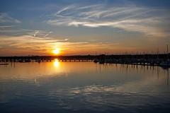 Sunset (ertolima) Tags: sunset water river reflection dock marina harbor newbern nc northcarolina dusk