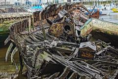 Cimetiere de bateaux (dfouchs) Tags: bretagne finistere cimetiere bateaux dournenez sony alpha 77