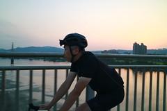 板橋新月橋.老包 (nk@flickr) Tags: friend taipei cycling 台北 taiwan panchiao 台湾 板橋 20190405 bobby 台灣 canonefm1545mmf3563isstm