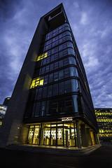 Düsseldorf0158Zollhafen (schulzharri) Tags: düsseldorf nrw deutschland germany europa europe architektur architecture glas modern haus building himmel gebäude stadt